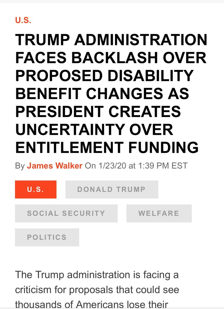 @realDonaldTrump Omg !!! STOP LYING. This is a blatant lie so you can have people vote for you. You're a very sick man and need to be removed. We pay into SS and Medicare and you call it entitlement — get out of our house. If not by your rigged trial come November 3 2020