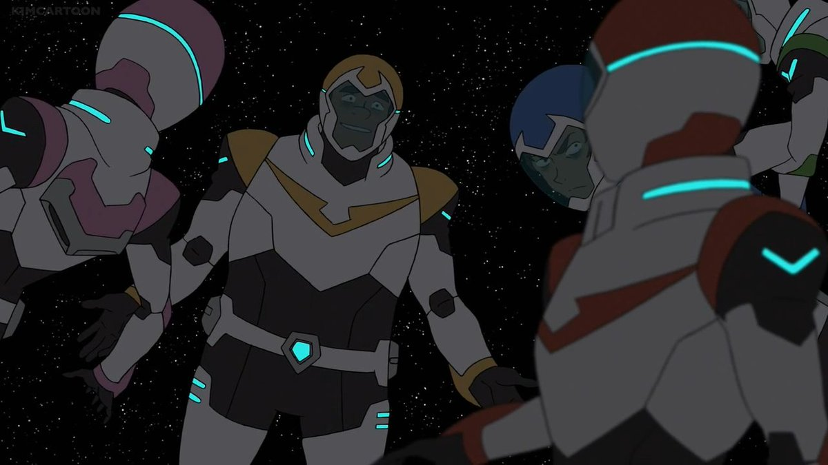 the team lost the castle,they have to go on this long 6 to8 month trip 2 earth 2 get a new castleship,and in episode 6 after being alone together they started 2 speck there minds,lance keith and allura start 2 fight pigde just sets there and hunk tried 2 keep them #voltron<br>http://pic.twitter.com/R70k4SqwDj