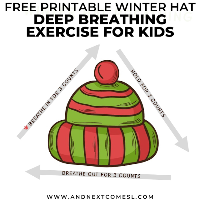 Dyan Hyperlexia Advocate On Twitter Looking For Deep Breathing Exercises For Kids Try This Winter Themed Breathing Technique And Grab A Copy Of The Free Printable Mindfulness Poster Https T Co Qqudeyeipa Winter Deepbreathing