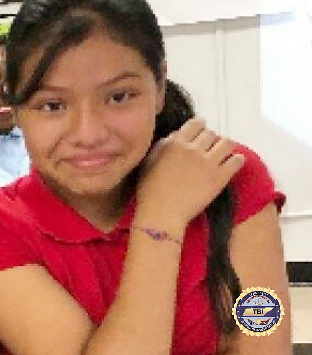 """Amber Alert: Lucy Lucas, 12 yrs old is missing from Chattanooga Tennessee. She has brown eyes & black hair.  4'8"""" & weighs 120 lbs.  Please call if you see her at 1-800-TBI-FIND or 911.  #TNAMBERAlert #AmberAlert #Tennessee<br>http://pic.twitter.com/K2m5bV5ZEm"""