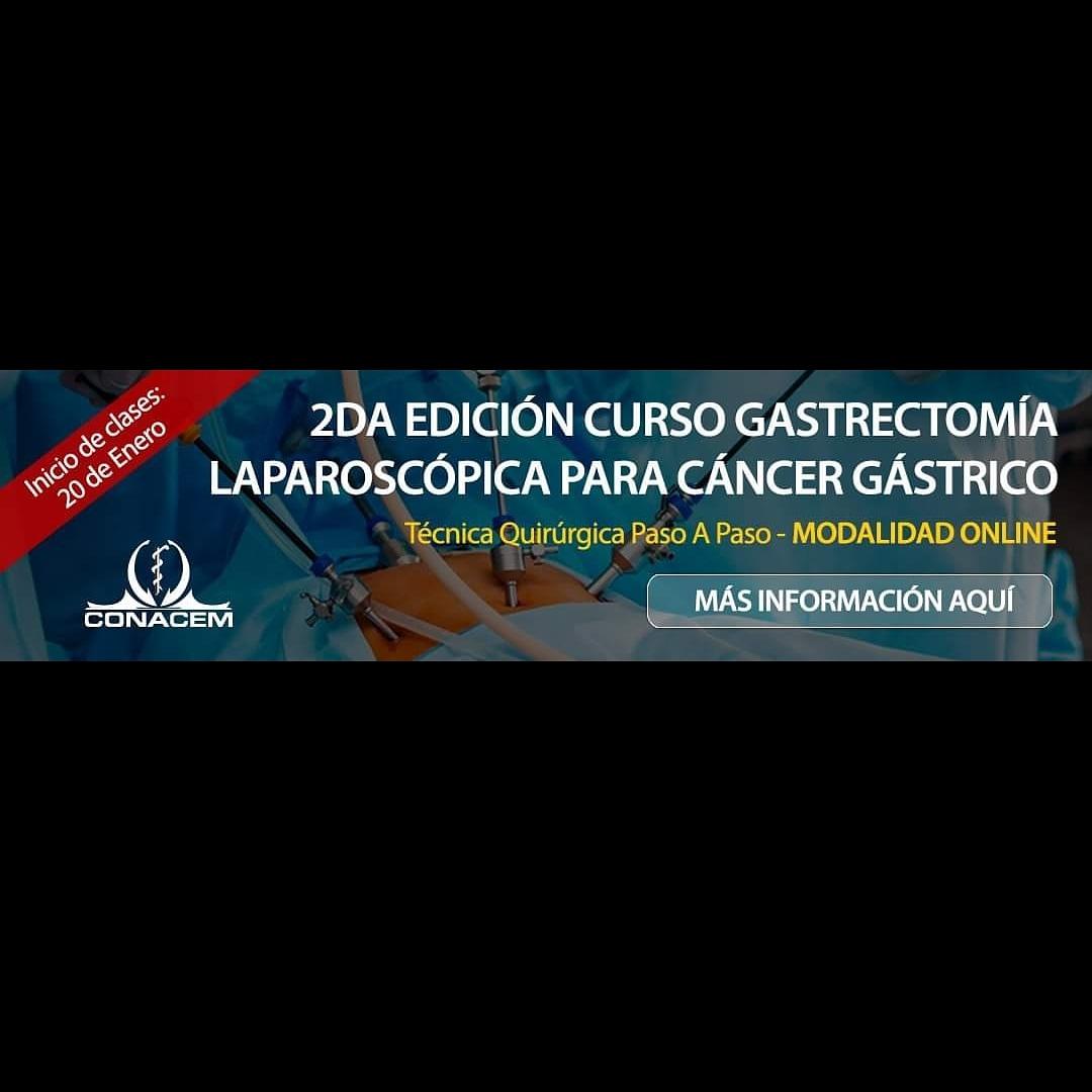 ¡No se lo pierda!  Estamos a cuatro días del inicio de la segunda edición del Curso #SOCICH Gastrectomía laparoscópica para #cáncer gástrico, modalidad online.  Informaciones e inscripciones:  https://t.co/ozZb18qc2x  #Cirujanos #cirugía  #laparoscopía #gastrectomía https://t.co/VkXrnxt25X