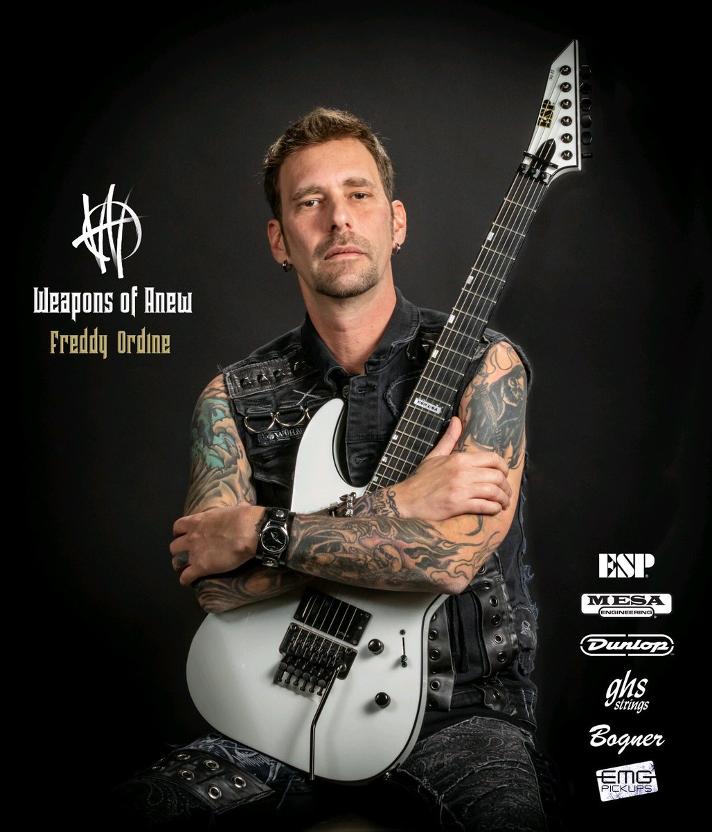 Hey guys, I will be at the esp guitars booth at NAMM at 12:30 today doing an interview about my USA custom shop guitars they build for me! Come by and say hello. - Freddy @ESPGuitarsUSA  @BognerAmps  @MesaBoogie  @EMG_PICKUPS  @jimdunlopusa  @ghsstrings  @fractalaudio #namm2020pic.twitter.com/hR3pPJ0y4c