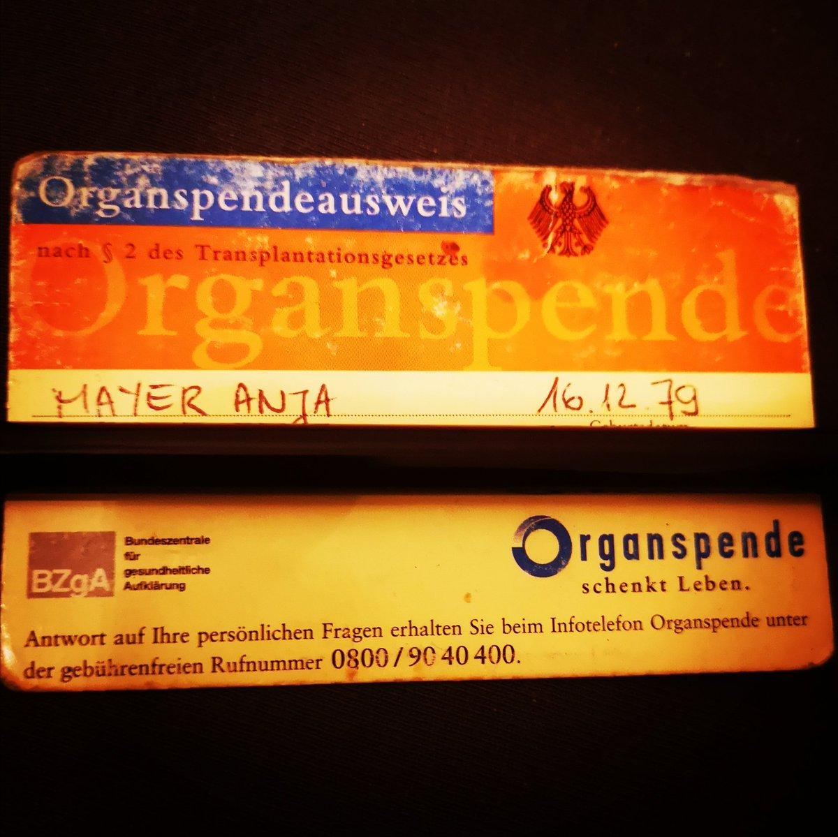 #Organspenden