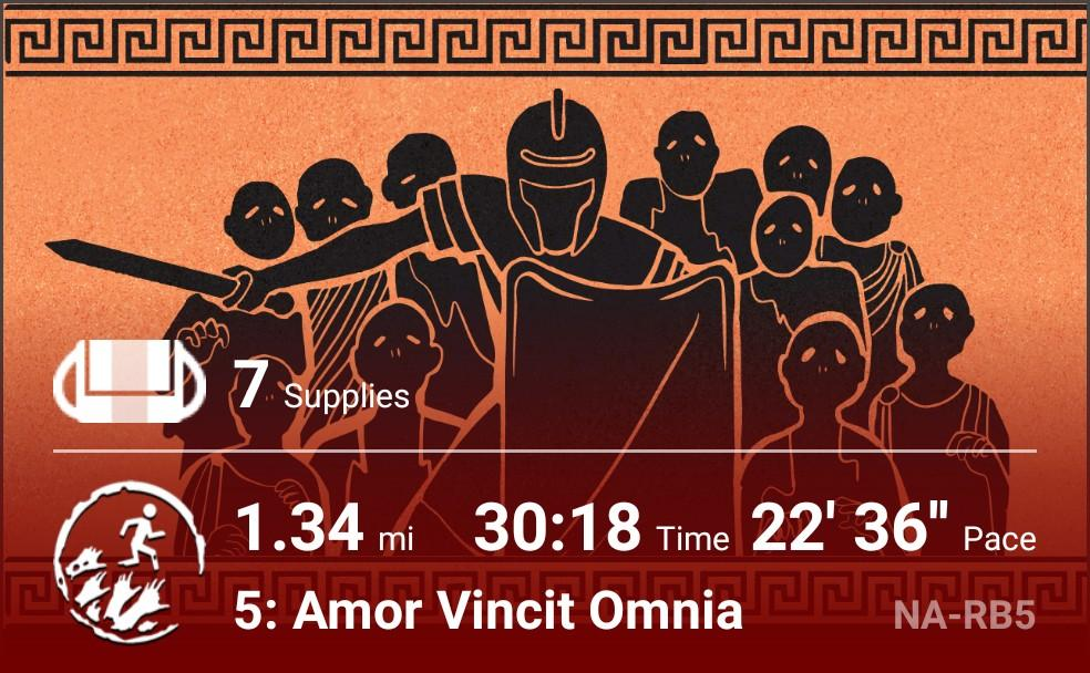Walked home.   Stopped a war and destroyed a power-hungry madman #zombiesrun <br>http://pic.twitter.com/igZu2XXX4e