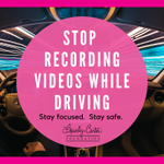 🚗Agents are major offenders of videoing promotional material while driving.  Even with a dash camera, all it takes is a moment of distraction to jeopardize your safety.  #Realtor #RealtorSafety #Safety