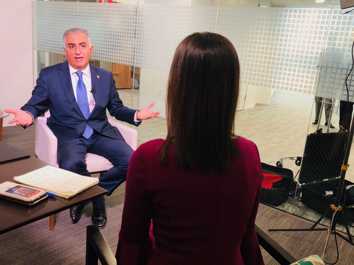 I will join @TeamCavuto on @FoxBusiness at 12:20 to share part of my interview with @PahlaviReza on the situation in Iran. He explains that Iranians want change but they've been opressed and fearful, American support has been powerful to help them be heard. What happens next?