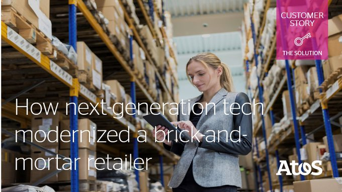 [#CustomerStory] Atos deployed our Manage Migrate Modernize solution to help a leading...