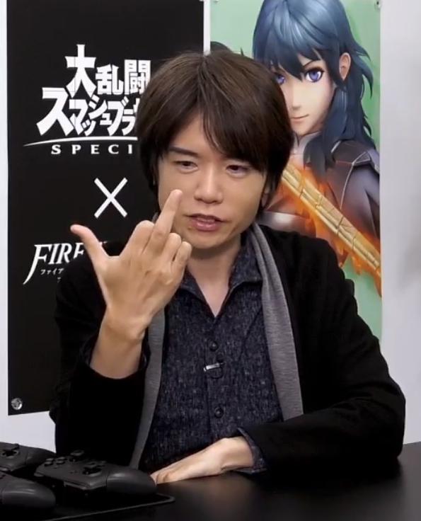 I feel you Sakurai... I feel you... #SmashDirect <br>http://pic.twitter.com/yQLEFtl0kd