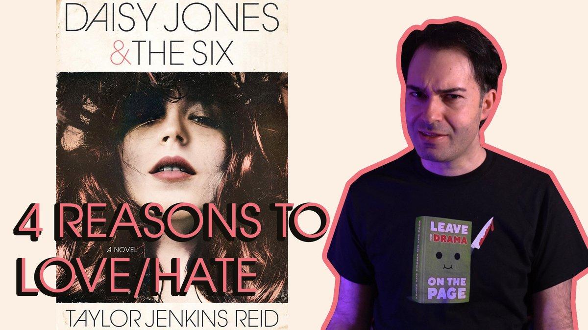 Here's my review of and four reasons to love/hate Daisy Jones & The Six by Taylor Jenkins Reid: https://youtu.be/9dYvJ47mQUU ... #daisyjonesandthesix #daisyjones #taylorjenkinsreid #booktube #bookreviews #smallyoutuber #youtube #SmallYouTuberArmypic.twitter.com/SpVjaugJiX