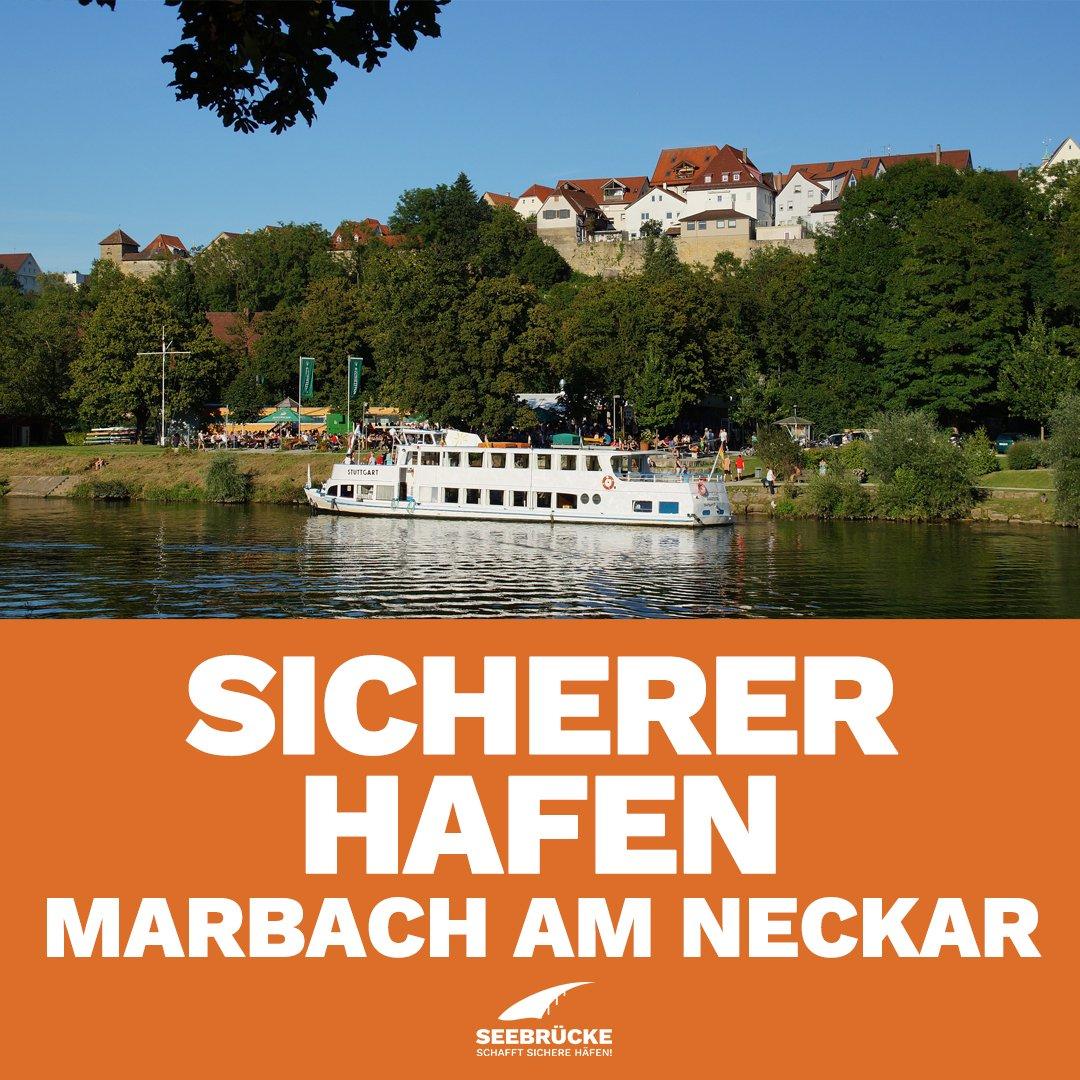 Als erste Gemeinde im Landkreis Ludwigsburg möchte Marbach am Neckar sich zu seiner Verantwortung bekennen, Menschen in Not zu helfen. #MarbachAmNeckar unterstützt die Initiative der #Seebrücke und beschließt, ein Sicherer Hafen zu sein.pic.twitter.com/DKrqXJ6yfH