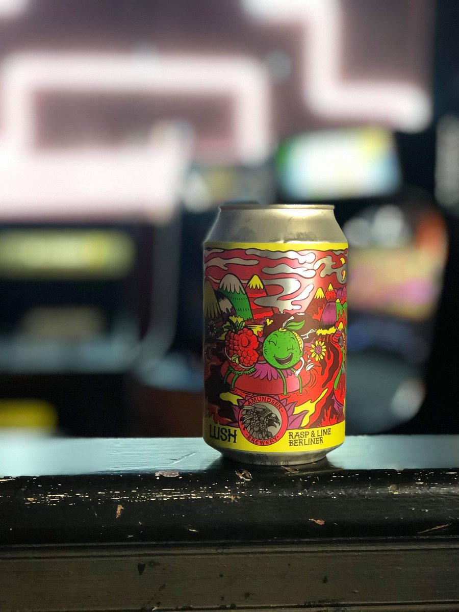 This lush little can by @amundsenbrewery is packed full of citrusy and fruity flavours that dance around your tastebuds leaving a berry explosion rounded off with refreshing lime. We can't get enough of Lush #craftbeer #birminghambar #arcadebar #craftnotcrap #sourbeerpic.twitter.com/OIkW6SHvqR