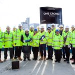 Great to celebrate Topping Out today with @MaceGroup @CBRE_UK @KohnPedersenFox and MTD Group! #toppingout #milestone #Construction