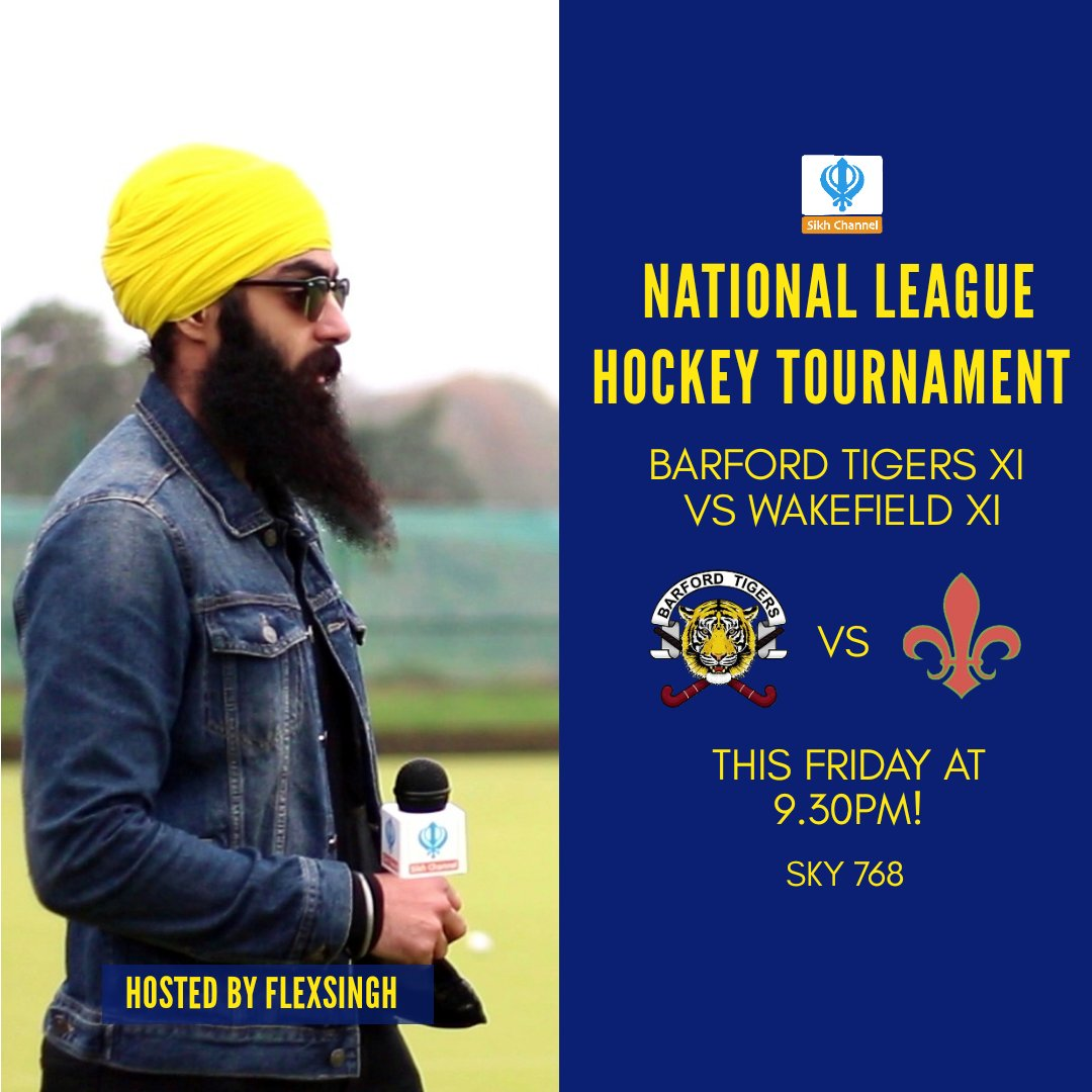 Tune in this Friday at 9.30PM on Sikh Channel TV📺 #flexfriday #hockey https://t.co/ce7c0qRwAM