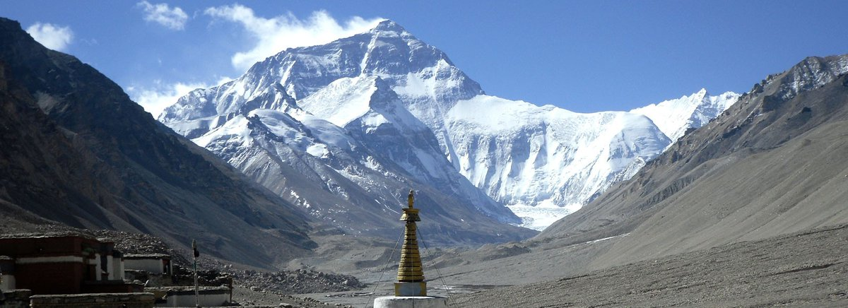 Climb Everest from uncrowded Tibet - http://www.EverestTibetClimb.com   Please enjoy the 3D video of Everest climb from Tibet - https://www.youtube.com/watch?v=8YEdJmHEql8…   Why you need to climb this Mountain - this select few who are allowed to climb the pristine North Ridge, with top leader David Obrien