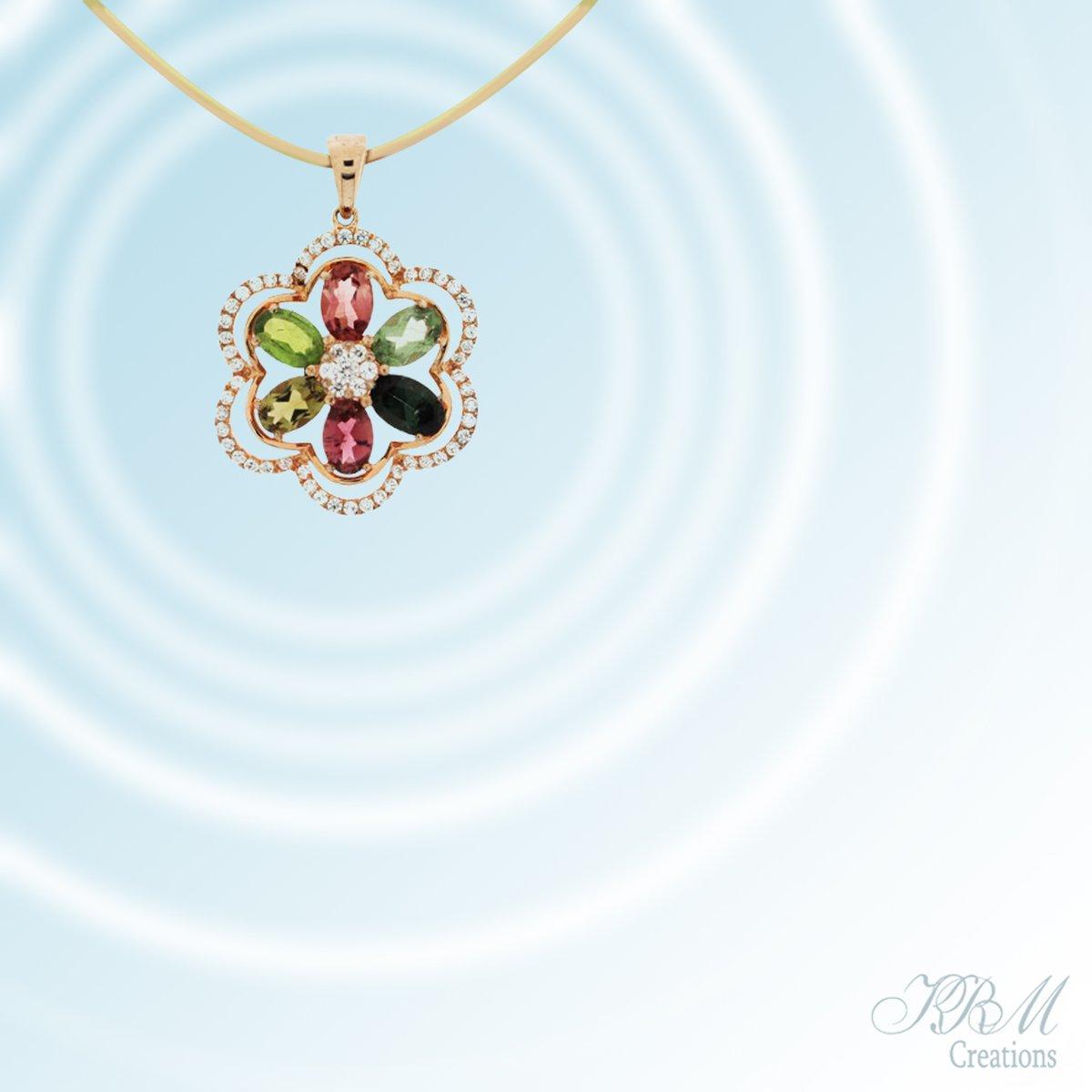 #ijo #jewelry #star #sterlinsilver #rose #vermeil #multicolor #tourmaline