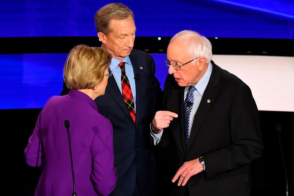 @newsmax's photo on #demdebate