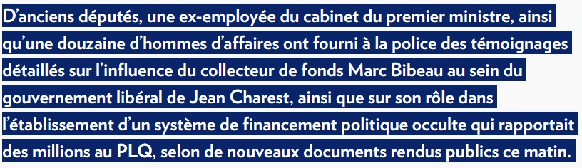 """Uh-oh, Spaghetti-Os.  Charade as #CPCldr would be an endless gift to LPC. He may wish to reconsider his candidacy.  """"un système de financement politique occulte"""" - such a beautiful way of expressing this in French.  #cdnpoli #qcpoli   https://www. lapresse.ca/actualites/pol itique/202001/16/01-5257025-de-nombreux-temoins-denoncent-le-financement-du-plq-sous-charest.php  … <br>http://pic.twitter.com/isV7FCq8d6"""