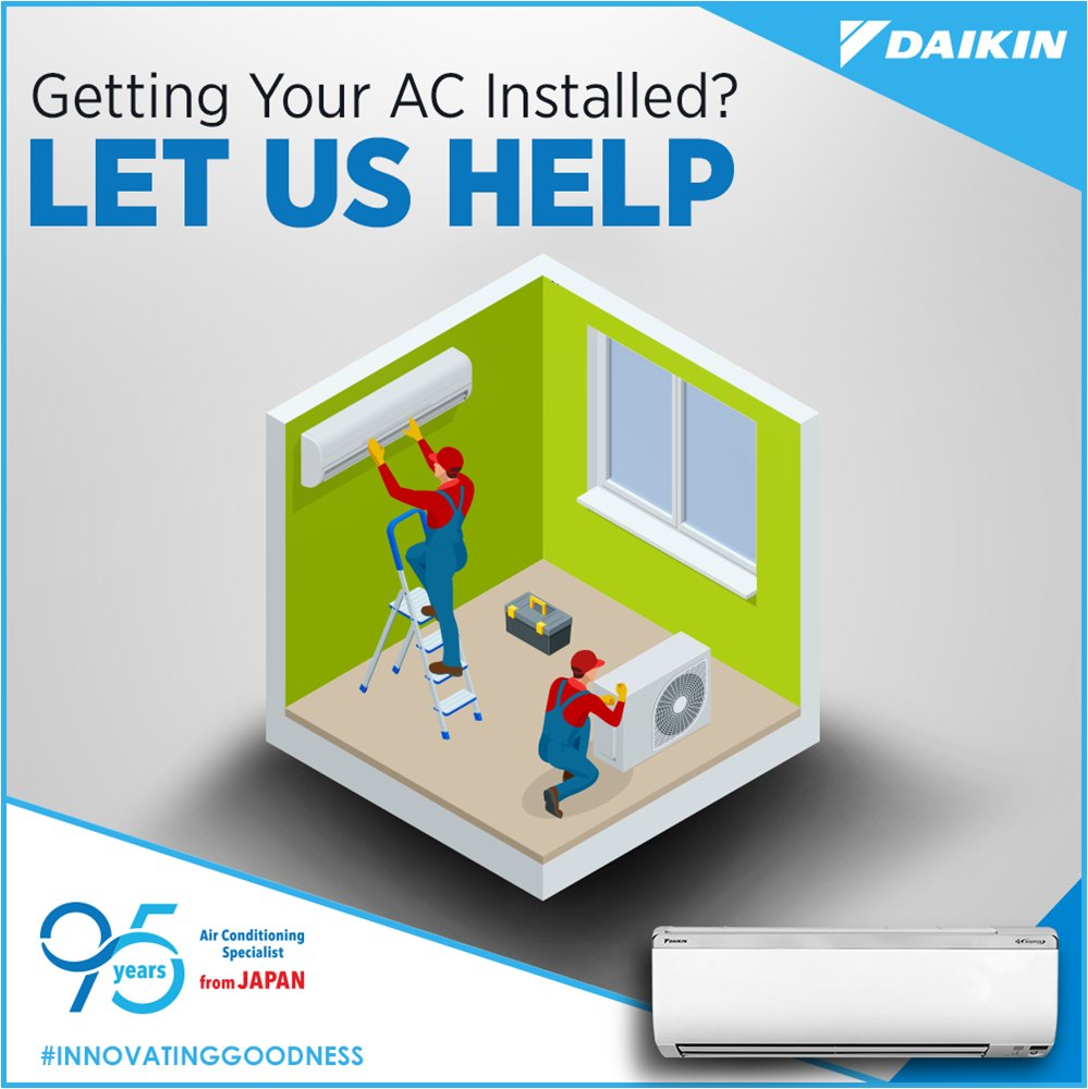 Visit https t.co v9Ji5fuoI8, and get in touch with us to get your AC installed the right way