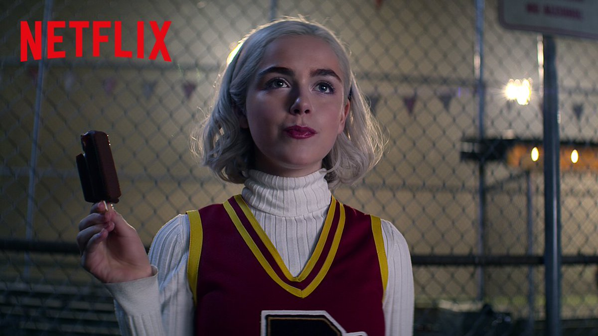 Hell's got a new queen, Witches. Sabrina is back on January 24th. #CAOS