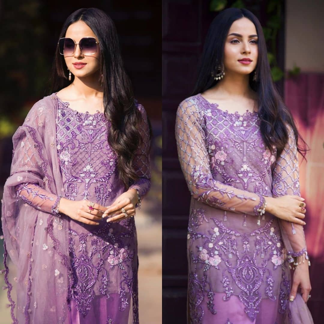 #NimraKhan looking eatheral in this adorable look and classy attire pic.twitter.com/N8bwzCun1e