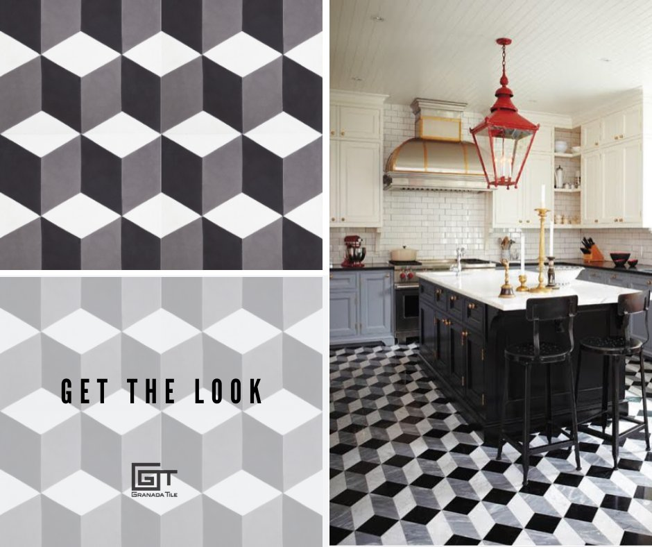 Be bold and creative! #GetTheLook and use our Toronto blocks pattern to make your kitchen a more spacious look.  Order now at http://ow.ly/JjJx50xVEdz .pic.twitter.com/sDzZEt3JxV