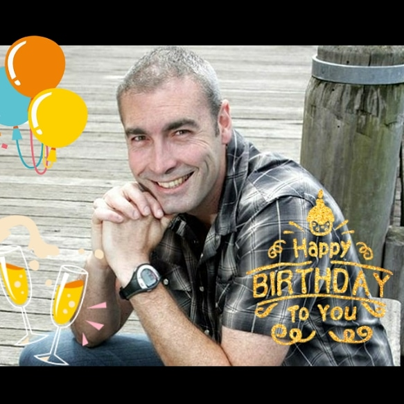 Happy birthday to the OG yellow wiggle! Happy birthday Greg Page