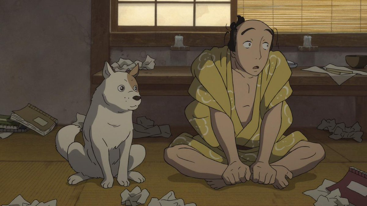 Anime Dog Of The Day On Twitter Today S Anime Dog Of The Day Is This Dog From Miss Hokusai 2015