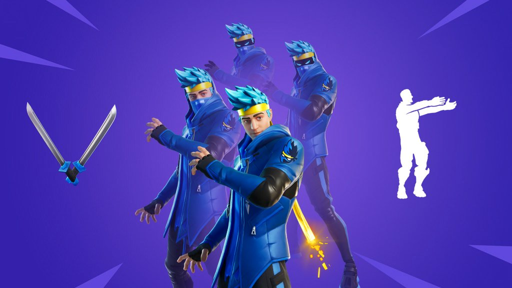 Ninja Pickaxe Fortnite O Xrhsths Fortnite News Leaks Sto Twitter You Will Be Able To Grab De Ninja Set From The Item Shop Tonight It Will Cost You Roughly 26 Usd Fortnite