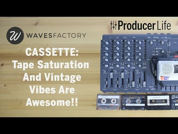 Wavesfactory Cassette is an audio plugin that imparts the unique character and sonic imprint of an often maligned recording medium, one that offers a sound like nothing else. This is not a tape machine, this is a time machine.  Cassette tapes add a vinta…  https:// ift.tt/30sWFOE     <br>http://pic.twitter.com/8lULNsuuWa