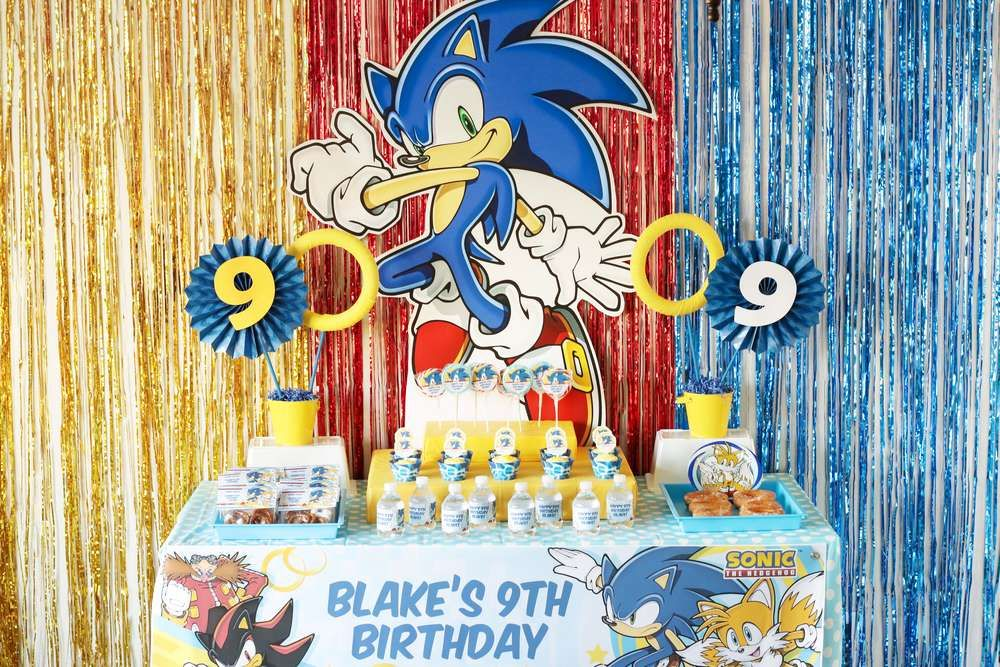 Catch My Party A Twitter Check Out This Awesome Sonic The Hedgehog Birthday Party The Dessert Table Is Fantastic Https T Co N67gfzotf6 Catchmyparty Partyideas Sonicthehedgehog Sonicthehedgehogparty Boybirthdayparty Https T Co Ihqzzrehqv