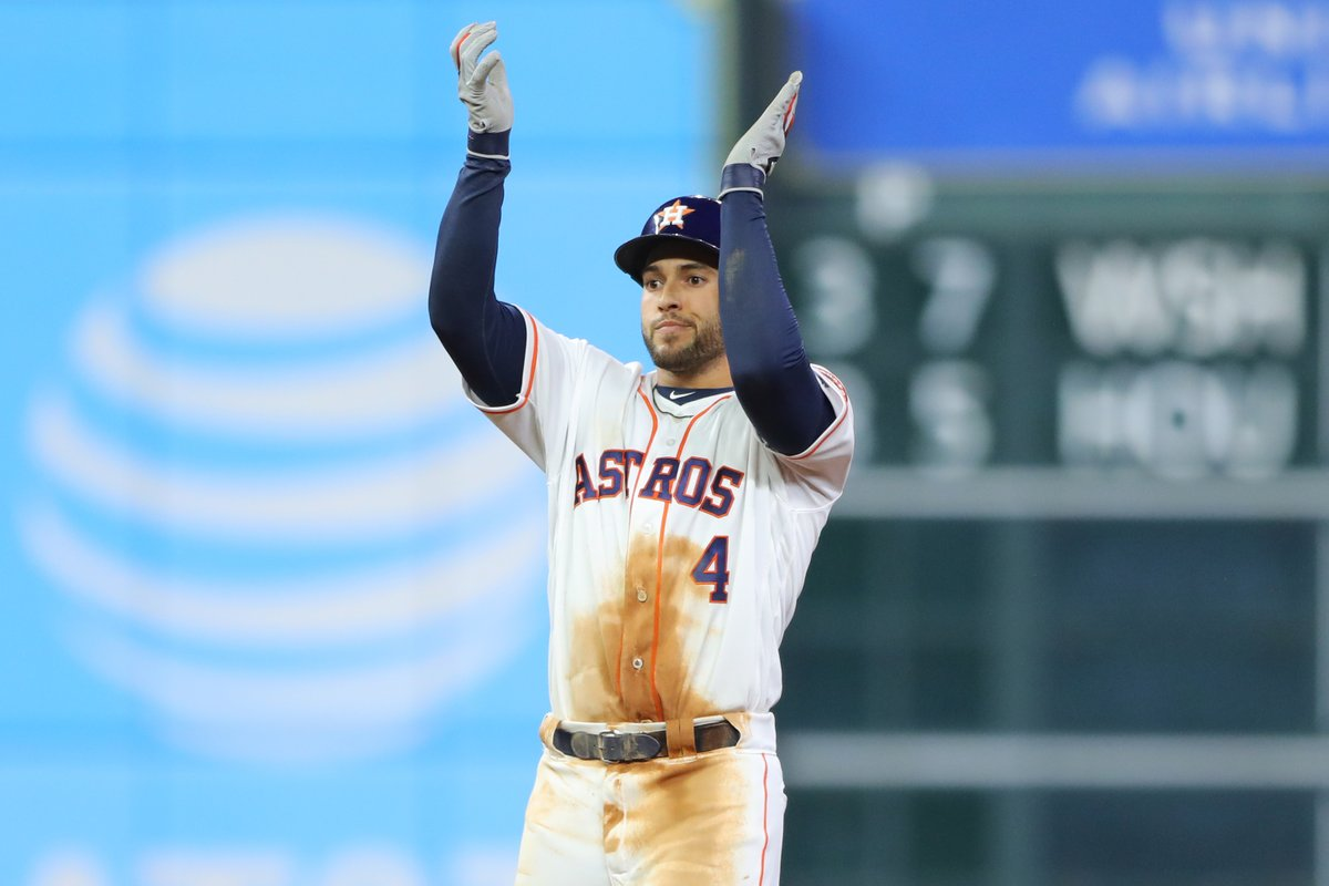 Astros Settle with Springer in Arbitration