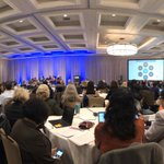 Image for the Tweet beginning: Completely full house here @NIH