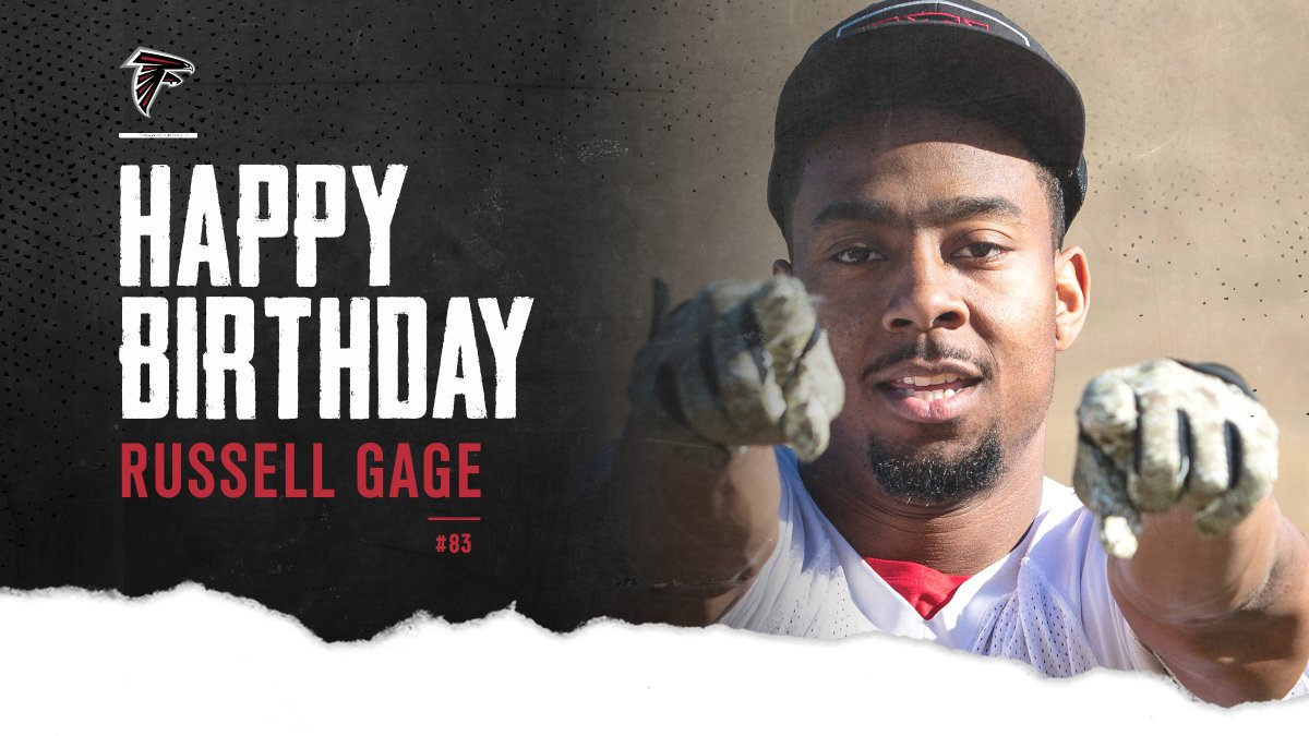 RT to help wish @GageRussell a happy birthday! Russell had 4️⃣9️⃣ catches in year ✌️ in ATL.