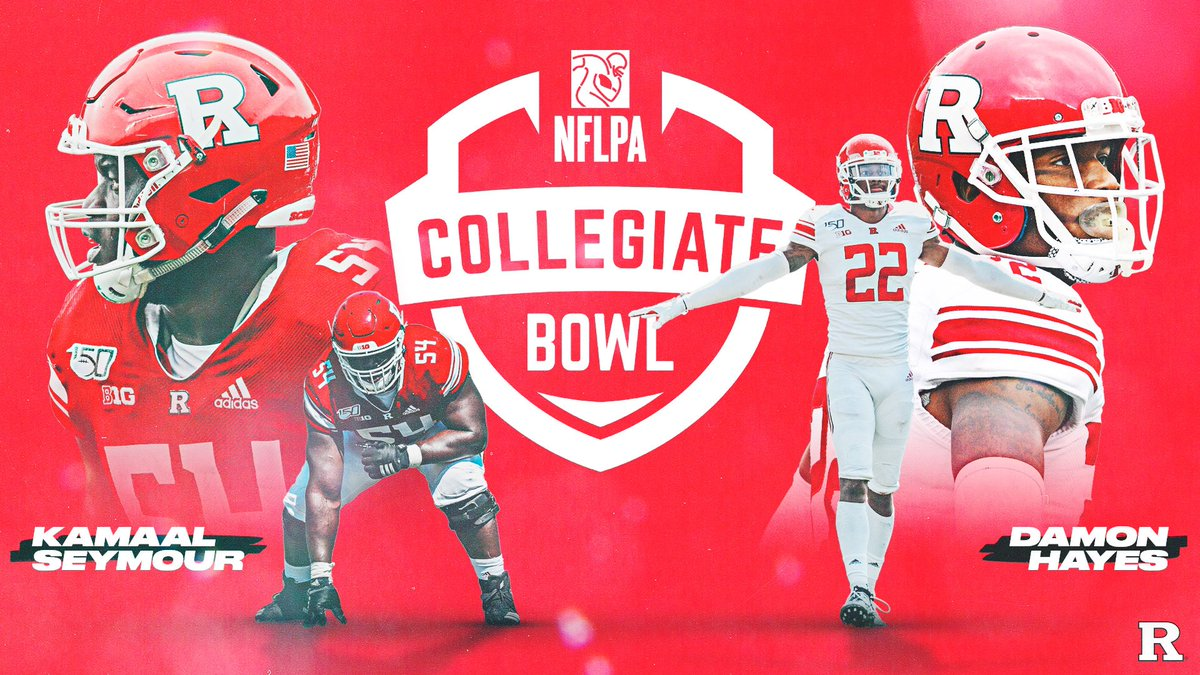 Good luck in the NFLPA Collegiate bowl, Damon Hayes and @MoneyMaknMaal! #CHOP