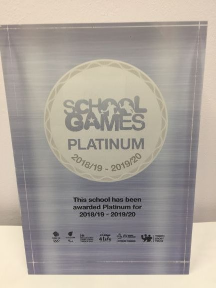 Well Done St Lukes. We are the only school in Harlow (out of 31) to receive the School Games Platinum Award this year. We have increased engagement in School games and developed competitive opportunities to achieve this award. Thank you to the children, parents and staff.