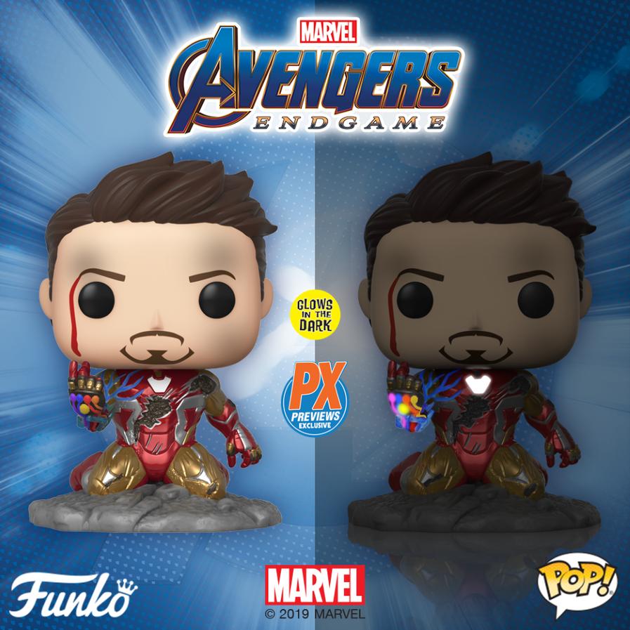 GITD PX exclusive 'I Am Iron Man' Pop coming soon!