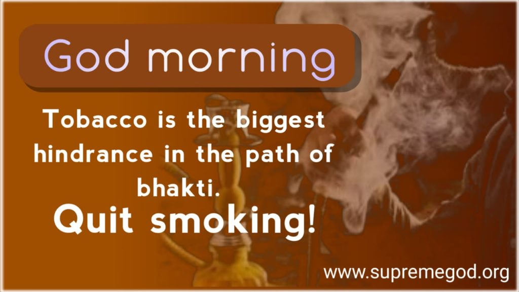#ThursdayThoughts Tobacco is the biggest hindrance in the path of bhakti. <br>http://pic.twitter.com/a2zDhoBO7p