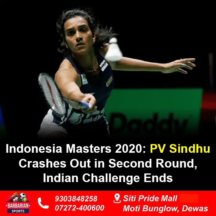 This was Sindhu's second consecutive early exit in the season as the World Champion had earlier crashed out in the quarter-finals of the Malaysia Masters. #pvsindhu #badminton #india #sainanehwal #badmintonindia #badmintonindonesia #kentomomota #jonathanchristie #leechongweipic.twitter.com/9NAWjxOlHO