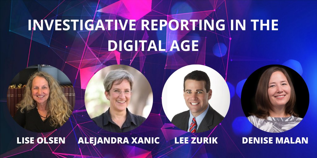 Image for the Tweet beginning: Improve your investigative reporting with