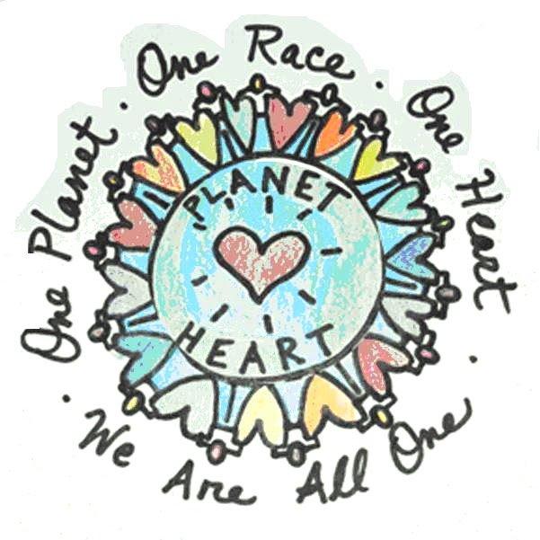 One #Planet..One #Race..One #Heart..   #JoyTrain #Joy #Love #Peace #Oneness #IDWP #MentalHealth #Mindfulness #GoldenHearts #IAM #Quote #FamilyTrain #kjoys00 #TuesdayMorning #TuesdayThoughts #TuesdayMotivation RT @janisexton