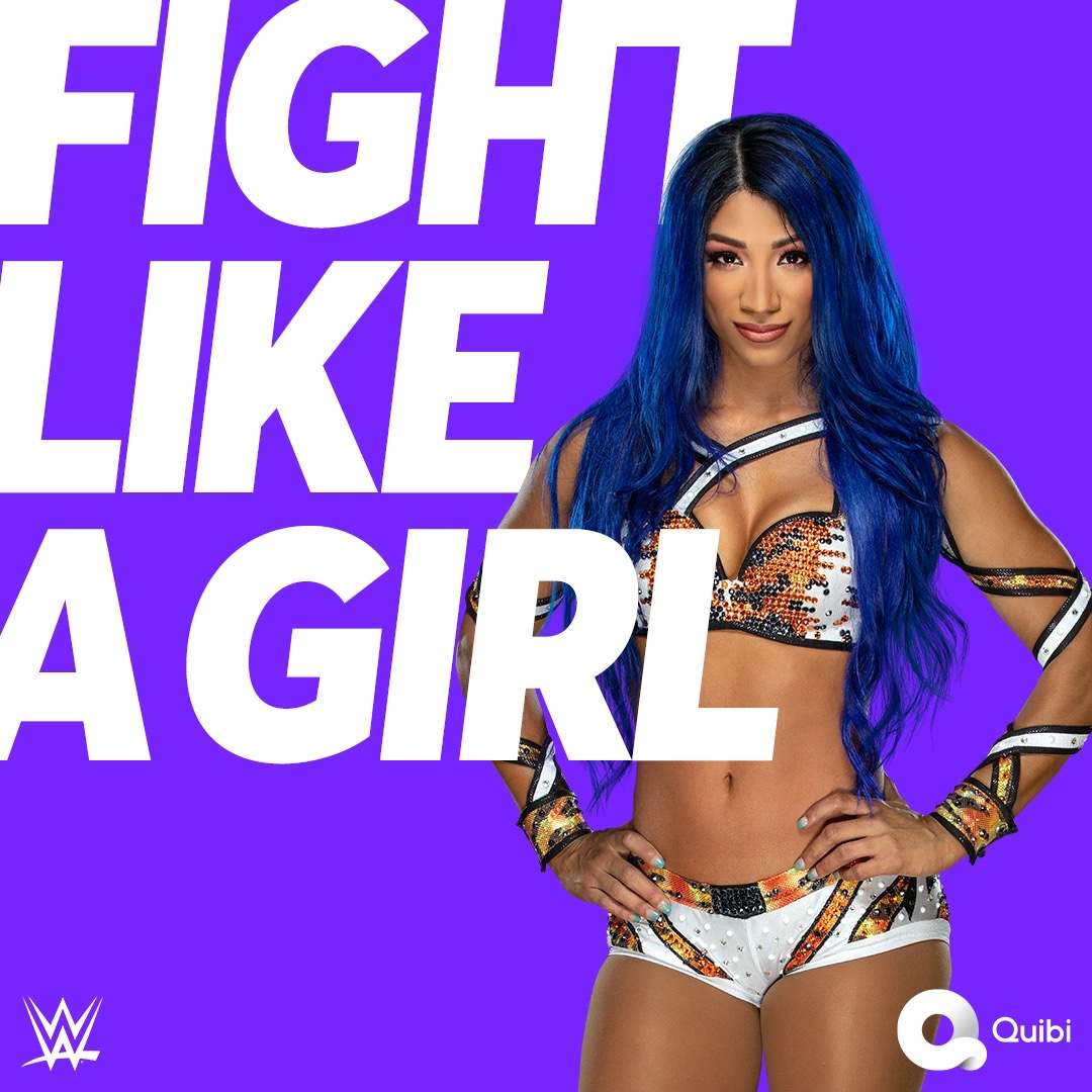 Change the world, like a girl boss. #FightLikeAGirl is ONLY on @Quibi, launching April 6, 2020.