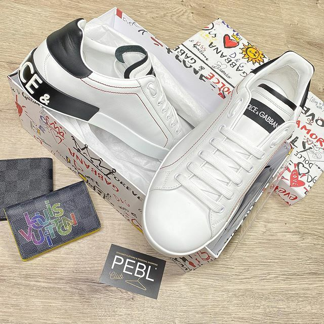 NEW #DOLCE TRAINERS in stock NOW. DM US TO BUY As always they are BELOW RRP - Follow @peblclub for more #dolcegabbana #dolceandgabbana #trainers #sneakers #personalshopper #luxurylifestyle #luxuryfashion #highendfashion #sneakercollection https://ift.tt/2Nxh93z pic.twitter.com/efQAhv0zO6