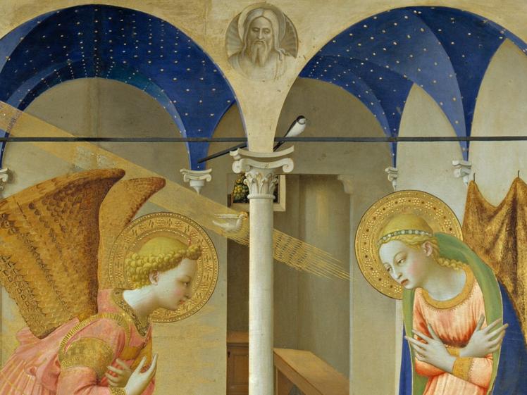 La Anunciación, Fra Angelico (1425)