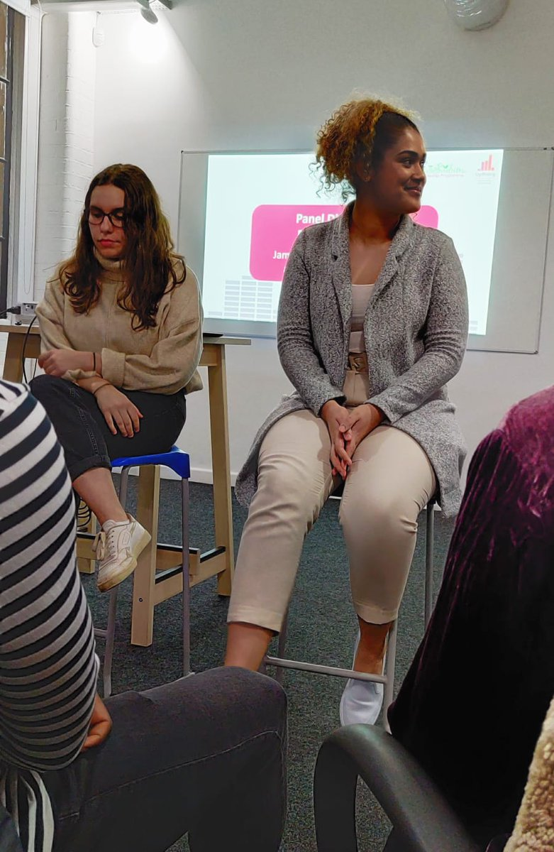 Check Loreal being an absolute boss on @UpRising_Brum's panel. We are so. Damn. Lucky. To have Loreal on our team.