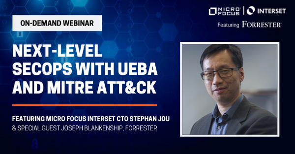 Achieve next-level #SecOps with #UEBA and #MITRE ATT&CK. Join @IntersetAI CTO @eeksock and special guest @infosec_jb of #Forrester for this special #InfoSec webinar. Watch on-demand now: http://ms.spr.ly/6012TXwfA #SecurityandRisk