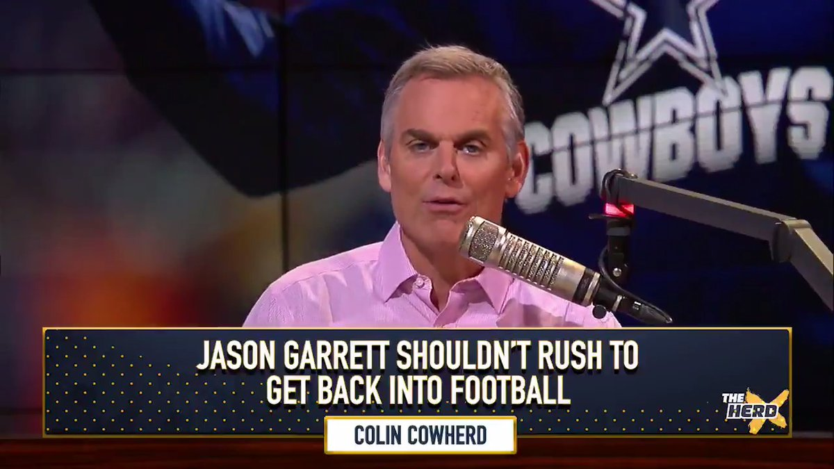 Colin Cowherd: Jason Garrett To The Giants Would Be Mistake