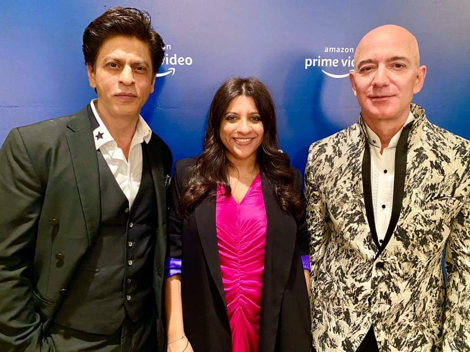 Fun and learning evening with the Zordaar Zoya Akhtar & the Zabardast #JeffBezos Thanx everyone at Amazon Prime Video for arranging this. Aparna, Gaurav & Vijay Thx for ur kindness. #AmitAgarwal ur bow tie was a killer...pic.twitter.com/vrQEHhnlsF