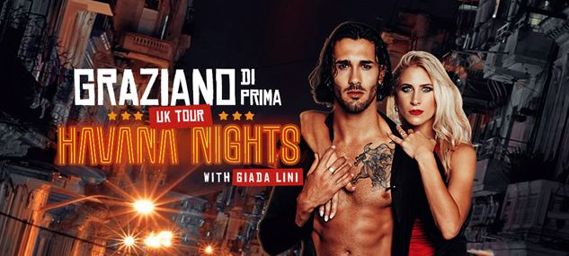 ❤️ Strictly star @GrazianoDiPrima and @giadalini perform in @_HavanaNights at @thehawthcrawley on Friday 6 March, 7.30pm ❤️ Its an all-new show with an exciting mix of Latin dances, as well as fabulous group numbers. Grab your tickets now: buff.ly/2YTwcaT