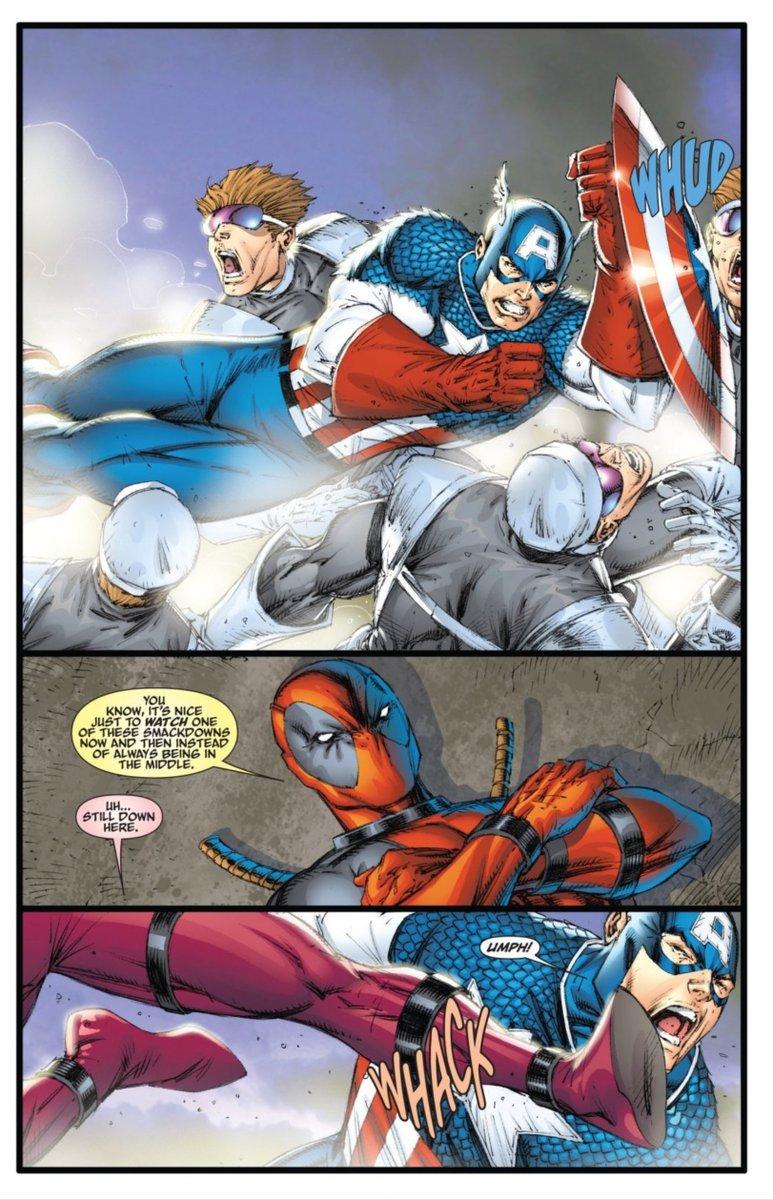 Robliefeld On Twitter Captain America Vs Deadpool Lady Deadpool Rob Liefeld 2009 Rob liefeld designs the most rob liefeld superhero ever cbr.com. captain america vs deadpool lady