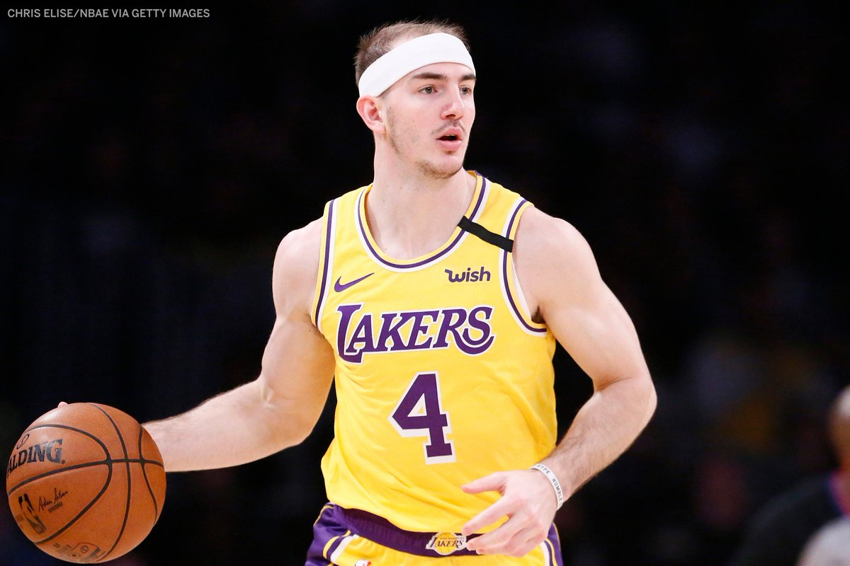 Alex Caruso is now 4th in All-Star votes among West guards 👀He was in 8th when the first All-Star fan returns were released.